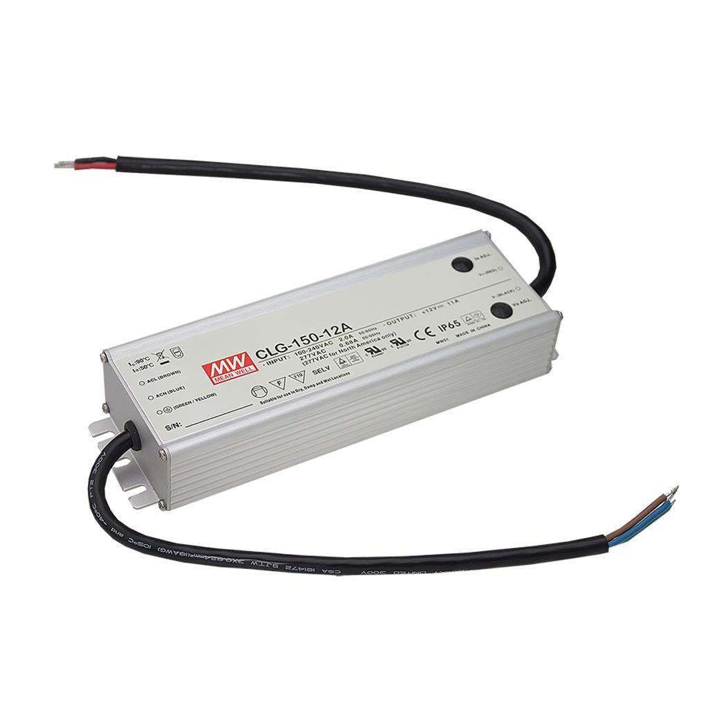 Mean Well CLG-150-12C AC/DC C.C. C.V. Box Type - Enclosed 12V 11A Single output LED driver