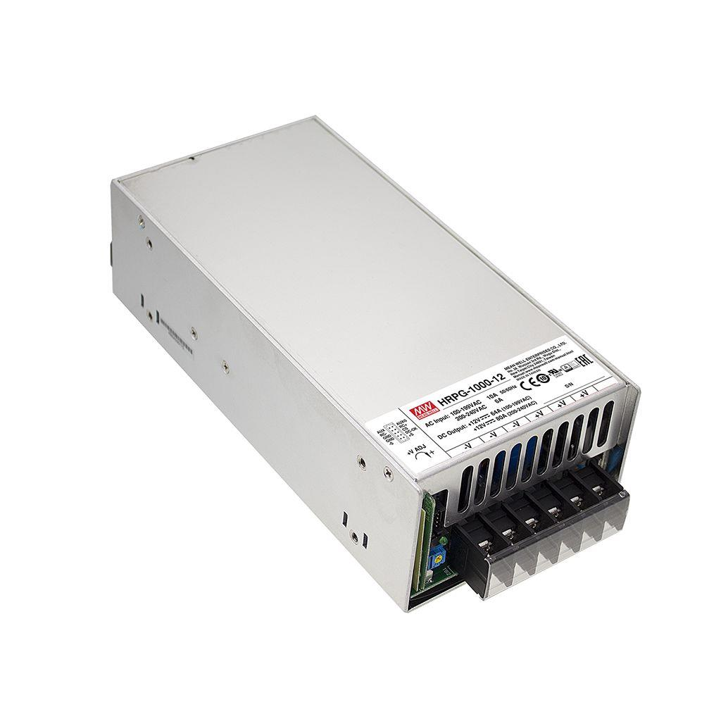 Mean Well HRPG-1000-15 AC/DC Box Type - Enclosed 15V 64A Power Supply