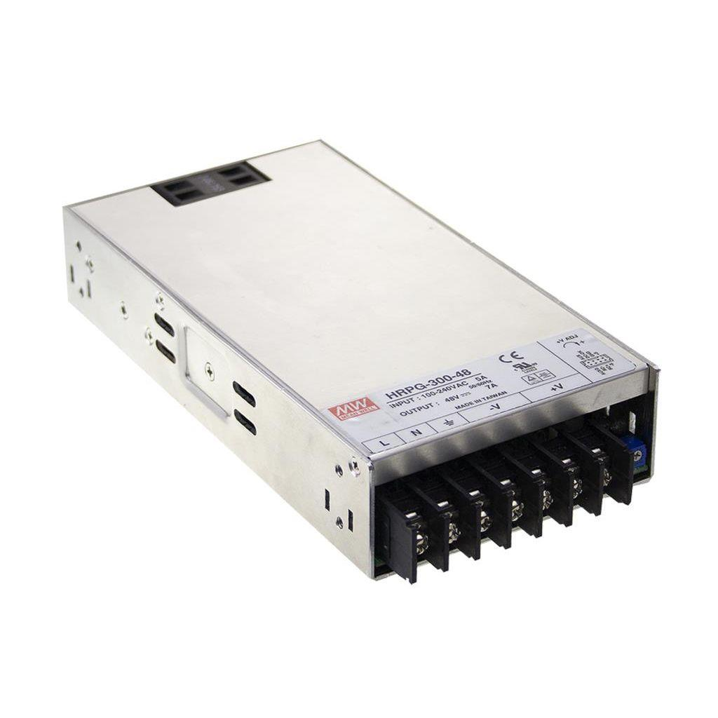 Mean Well HRPG-300-12 AC/DC Box Type - Enclosed 12V 27A Power Supply