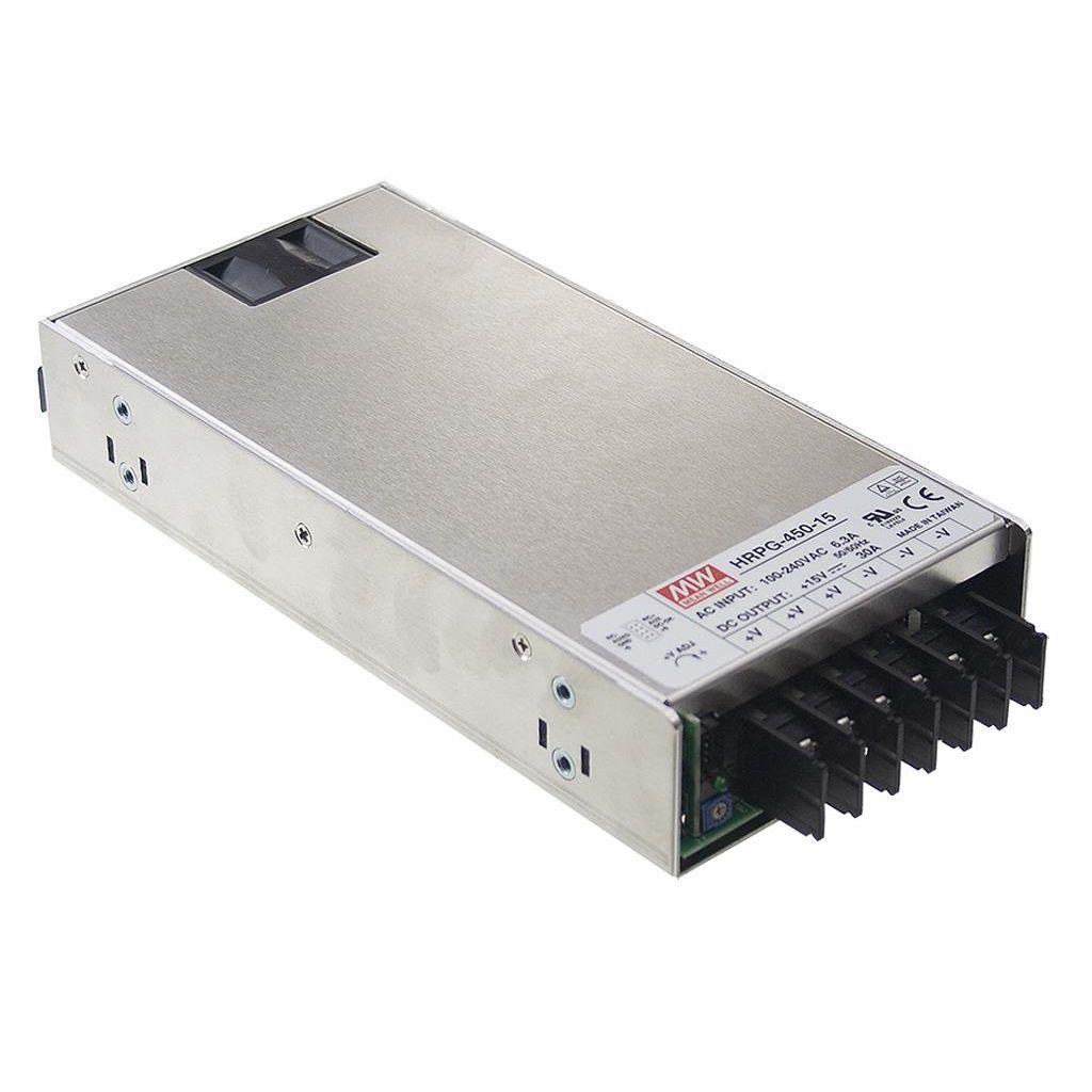 Mean Well HRPG-450-5 AC/DC Box Type - Enclosed 5V 90A Power Supply