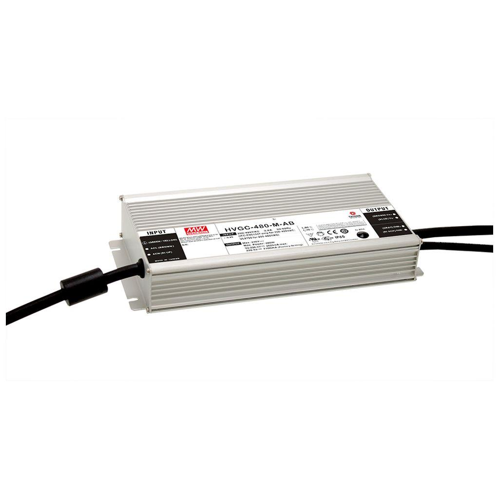 Mean Well HVGC-480-H AC/DC Box Type - Enclosed 171.5V 2.8A LED Driver