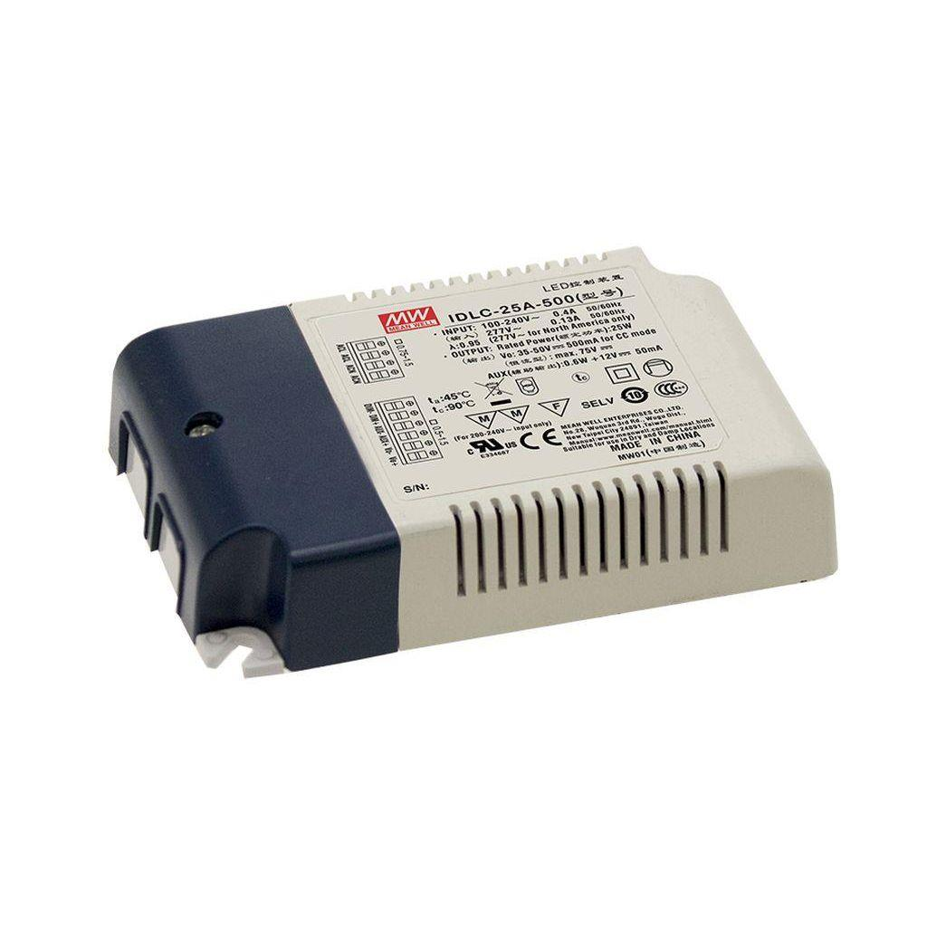 Mean Well IDLC-25A-350 AC/DC C.C. Box Type - Enclosed 70V 0.35A Power Supply