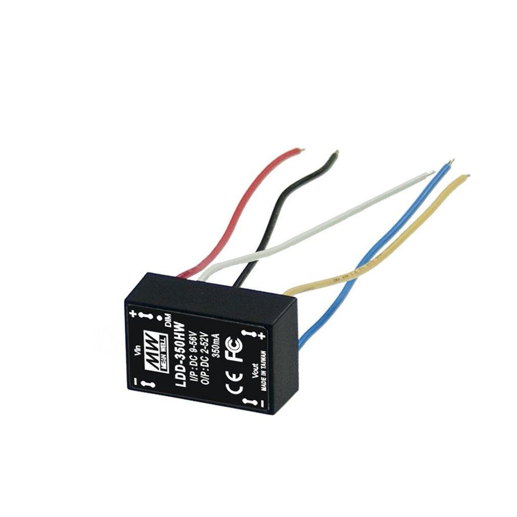 Mean Well LDD-300HW DC/DC C.C. Box Type - Enclosed 52V 0.3A Step down LED driver
