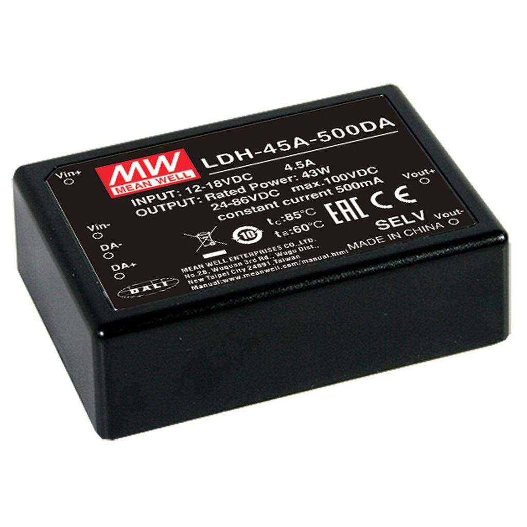 Mean Well DC/DC Box Type - Enclosed 64V 0.7A Power Supply