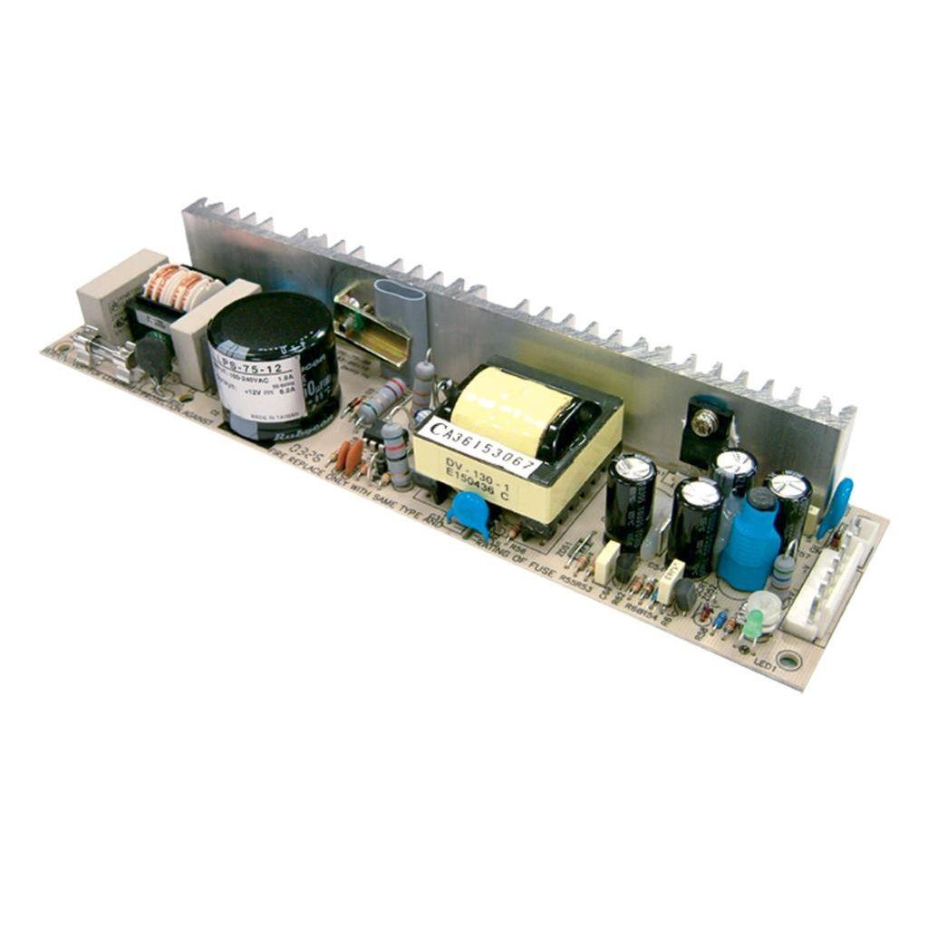 Mean Well LPS-75-48 AC/DC Open Frame - PCB 48V 1.56A Power Supply