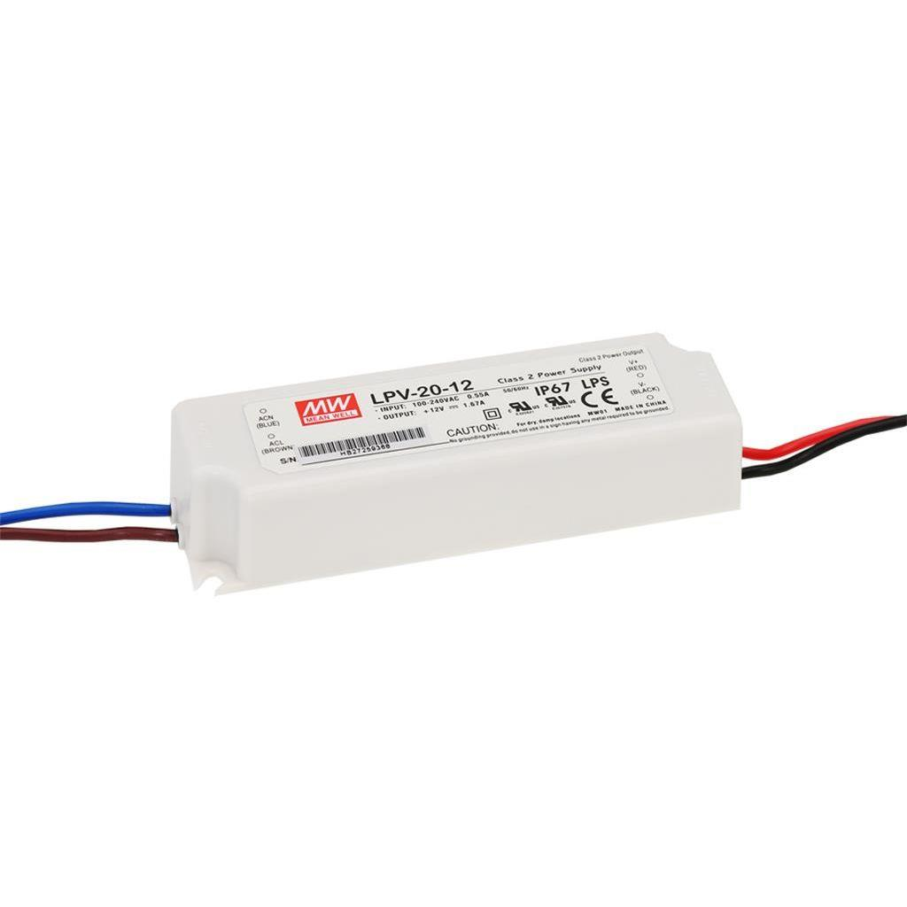 Mean Well LPV-20-15 AC/DC C.V. Box Type - Enclosed 15V 1.33A Single output LED driver