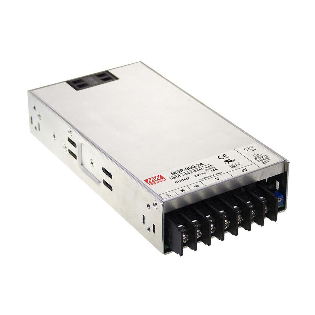 Mean Well MSP-300-12 AC/DC Box Type - Enclosed 12V 27A Power Supply