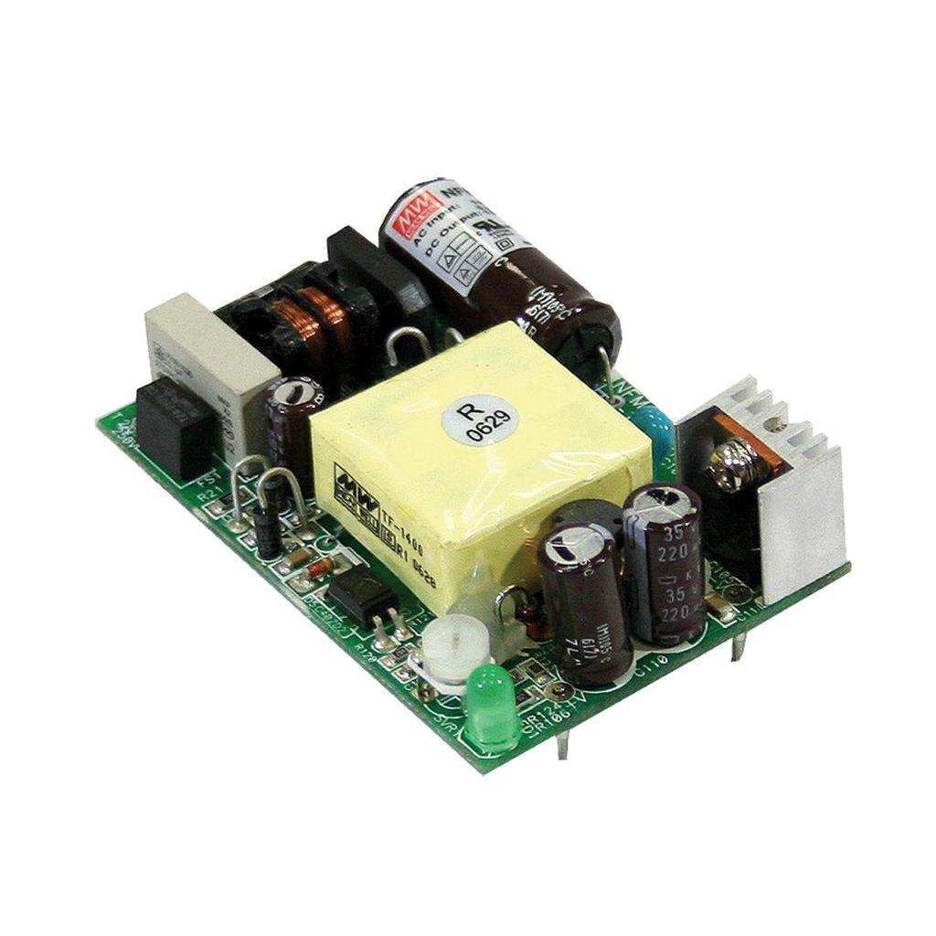 Mean Well NFM-15-3.3 AC/DC Open Frame - PCB 3.3V 3.5A Power Supply