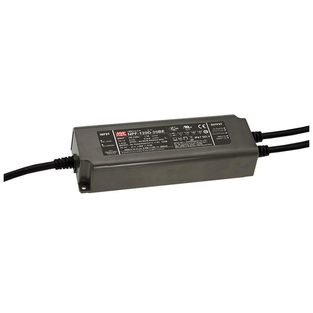 Mean Well AC/DC Box Type - Enclosed 12V 10A Power Supply