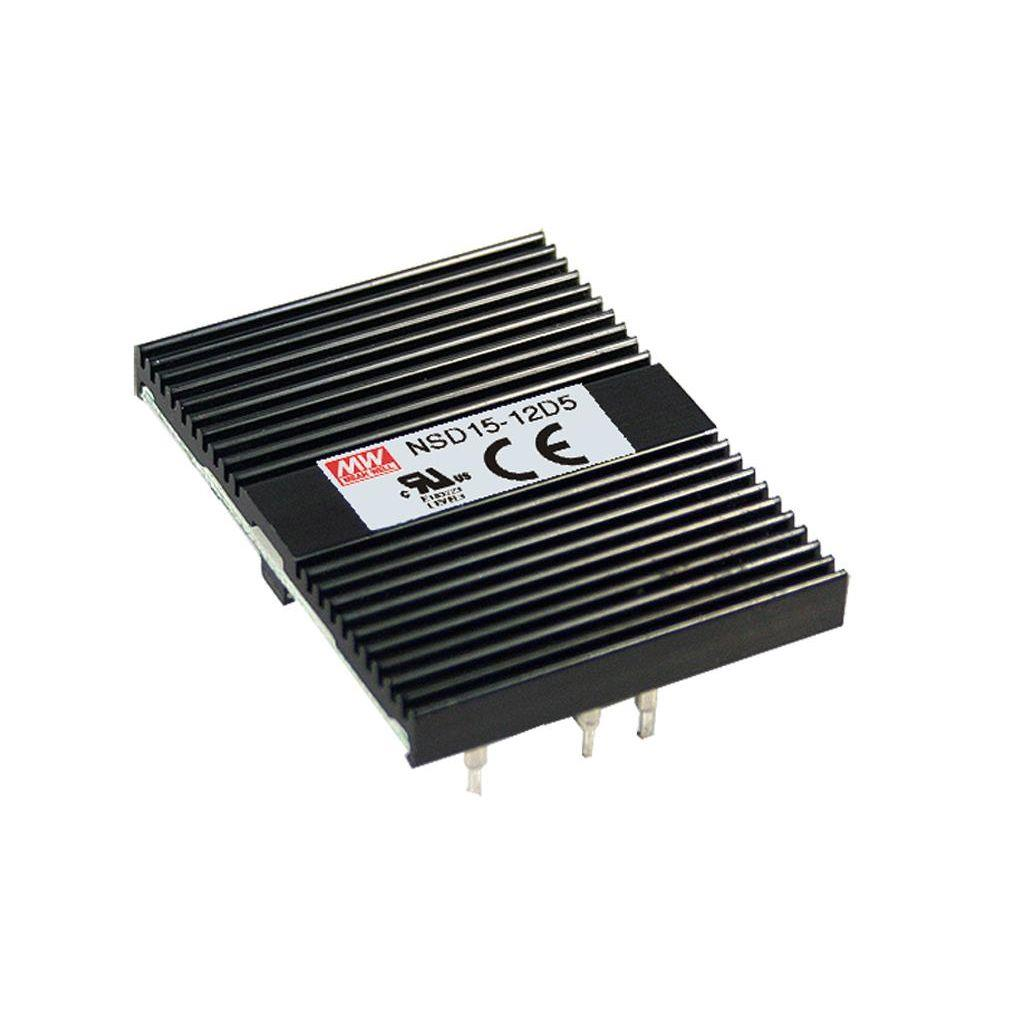 Mean Well NSD15-48D5 DC/DC Open Frame - PCB 5V 1.5A Converter