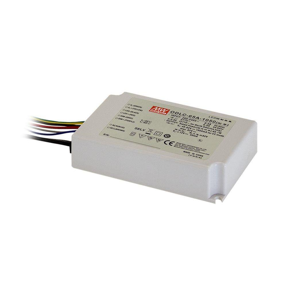 Mean Well ODLC-65-700DA AC/DC C.C. Box Type - Enclosed 93V 0.7A LED Driver