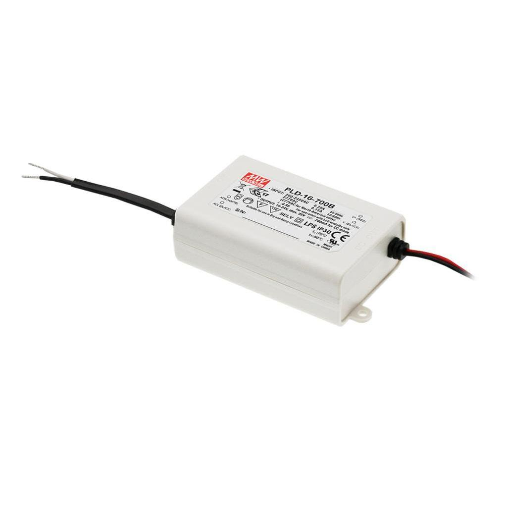 Mean Well PLD-16-1400B AC/DC C.C. Box Type - Enclosed 12V 1.4A Single output LED driver