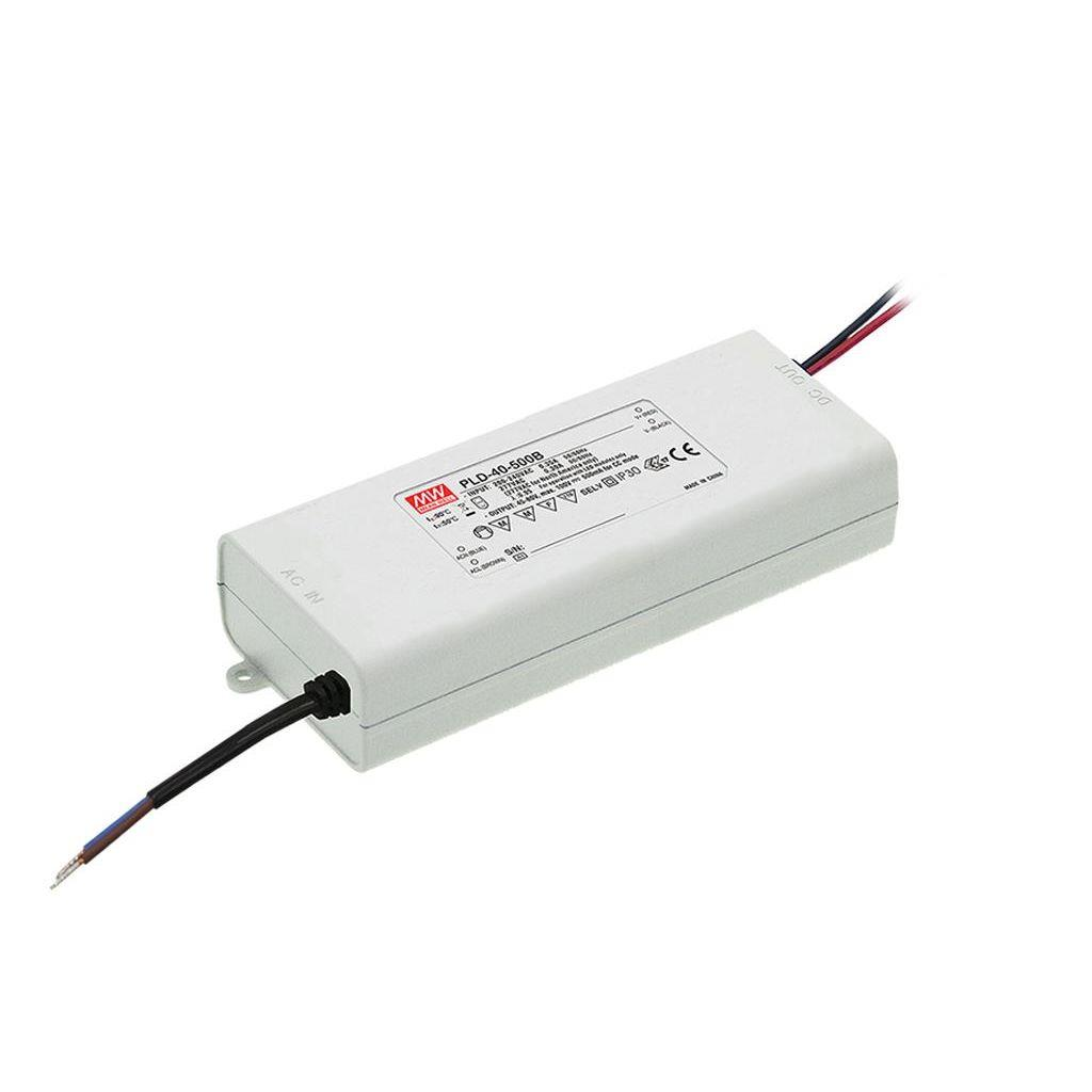 Mean Well PLD-40-1750B AC/DC C.C. Box Type - Enclosed 23V 1.75A Single output LED driver