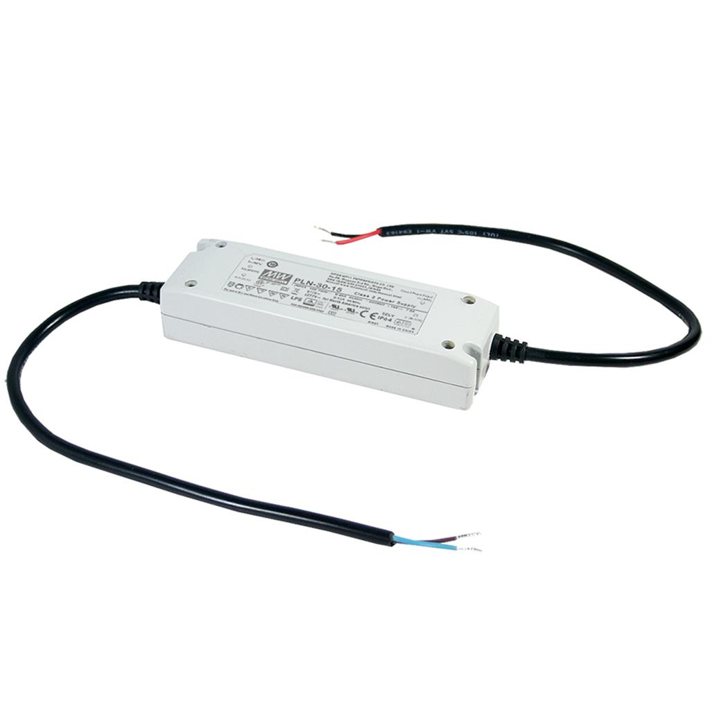 Mean Well PLN-30-27 AC/DC C.C. Box Type - Enclosed 27V 1.12A Single output LED driver