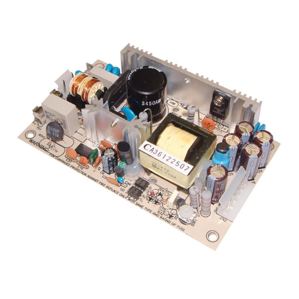 Mean Well PS-45-24 AC/DC Open Frame - PCB 24V 1.9A Power Supply