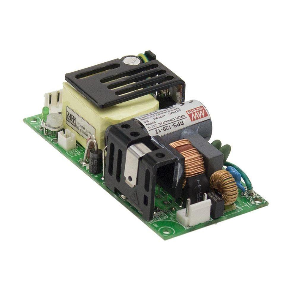 Mean Well RPS-120-12-C AC/DC Open Frame - PCB 12V 7A Power Supply