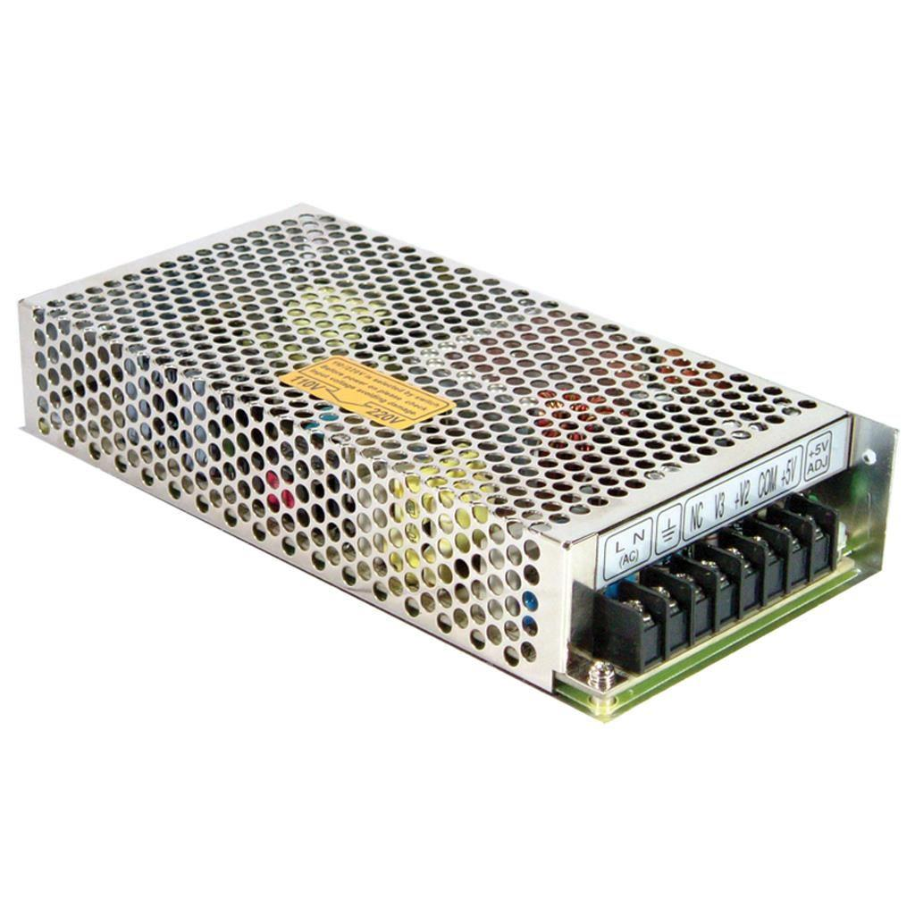 Mean Well RQ-125C AC/DC Box Type - Enclosed 5V 10A Power Supply