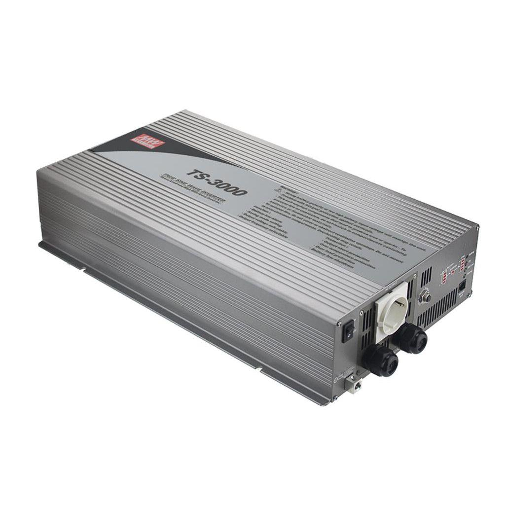 Mean Well TS-3000-212B DC/AC True Sine Wave 230V 13.04A Power Inverter