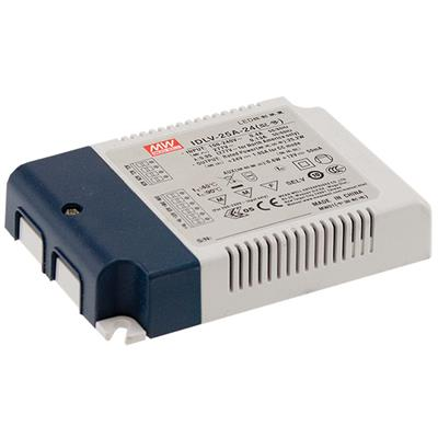 Mean Well IDLV-25-60 AC/DC C.V. Box Type - Enclosed 60V 0.42A LED Driver