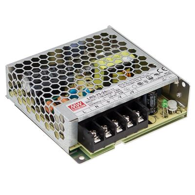 Mean Well LRS-75-5 AC/DC Box Type - Enclosed 5V 14A Power Supply