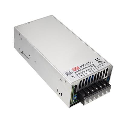 Mean Well MSP-600-3.3 AC/DC Box Type - Enclosed 3.3V 120A Power Supply