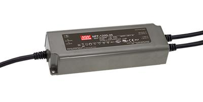 Mean Well NPF-120D-24 AC/DC C.C. Box Type - Enclosed 24V 5A Single output LED driver