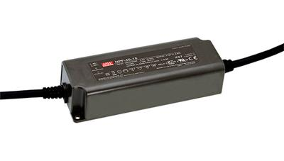Mean Well NPF-40-12 AC/DC C.V. C.C. Box Type - Enclosed 12V 3.34A Single output LED driver