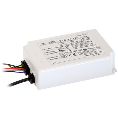 Mean Well AC/DC C.C Box Type - Enclosed 64V 0.7A LED Driver