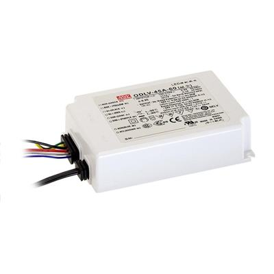 Mean Well ODLV-45A-12 AC/DC C.V. Box Type - Enclosed 12V 3.75A LED Driver