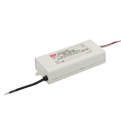Mean Well PCD-40-1050B AC/DC C.C.  Box Type - Enclosed 38V 1.05A Single output LED driver